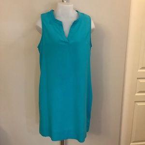 NWT DKR Linen Dress Large